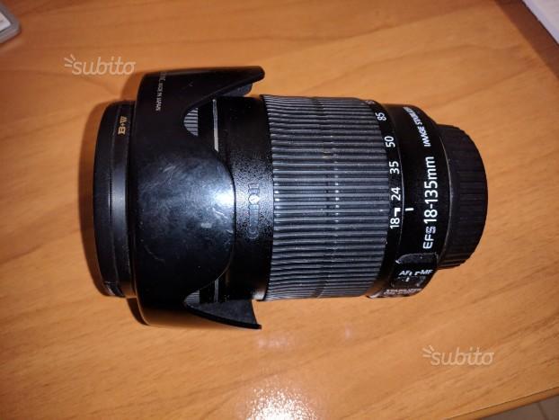 Obiettivo Canon  EFS stabilizzato