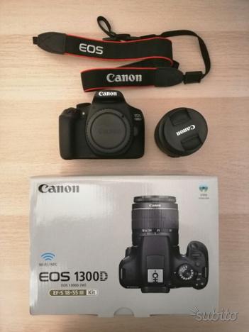 Reflex Canon EOS D + EFS mm