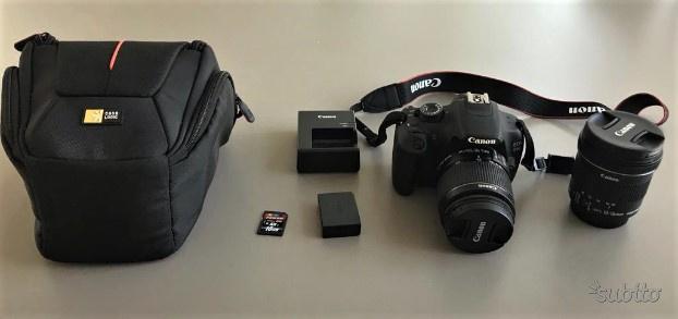 Reflex Canon EOS D + obiettivi