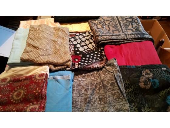 Scampoli tessuto / stoffa vari colori e pezzature