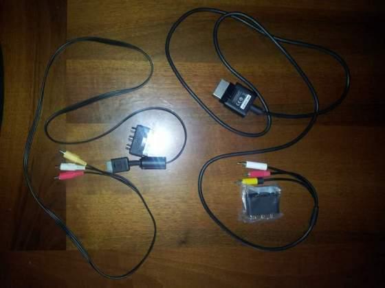 Cavi video RCA + Adattatore Scart per Ps1,Ps2,Ps3 e XBOX 360