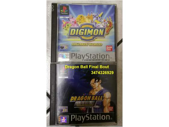 GIOCHI PS1 Dragon ball final bout