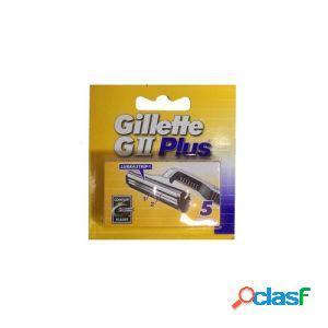 Gillette lame di ricambio per rasoio gii plus 1 confezione