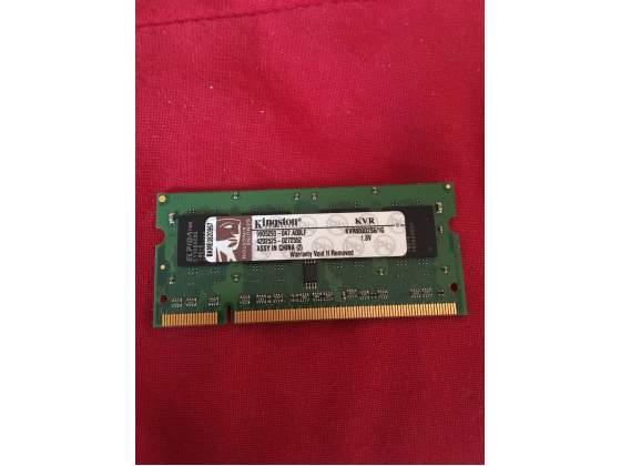 Memoria RAM 1GB Kingston sodimm 200pin