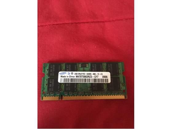 Memoria RAM 2GB Samsung sodimm 200pin