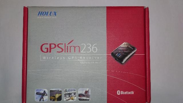 RICEVITORE GPS BLUETOOTH HOLUX SLIM 236