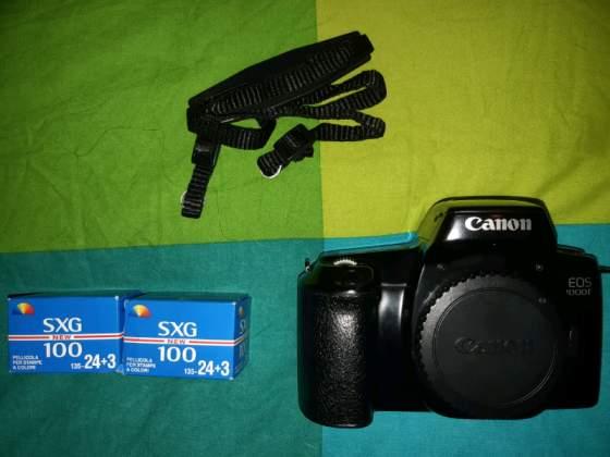 Reflex analogica canon eos f corpo macchina