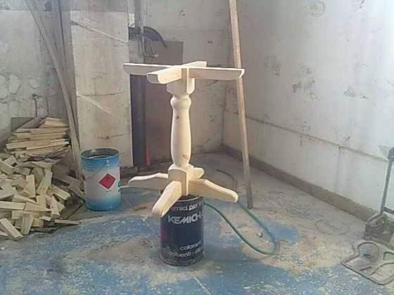 Banconi in legno massello su misura