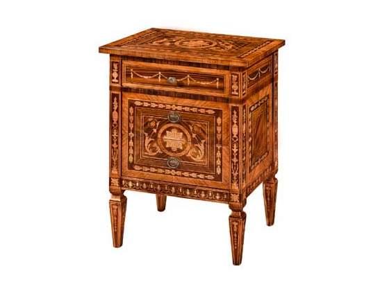 Comodini cod 989 in legno massello nuovi affare
