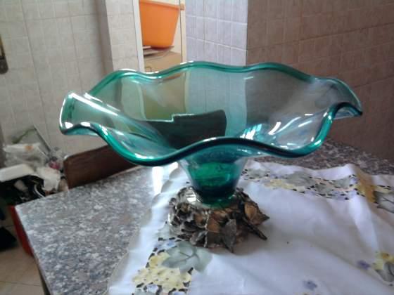 Grande coppa centrotavola vaso