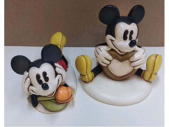 Mickey mouse Thun nuovi con scatola mai usati