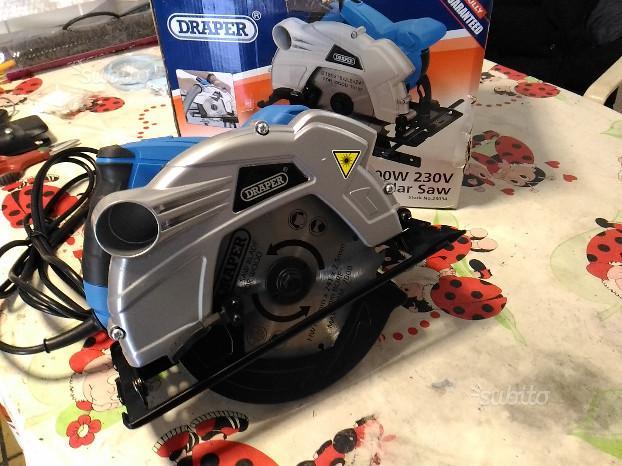 Sega circolare Draper W laser