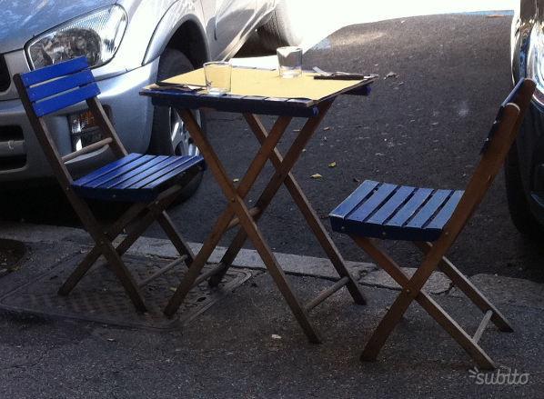 Tavoli e sedie usati per ristorazione posot class for Tavoli per ristoranti usati