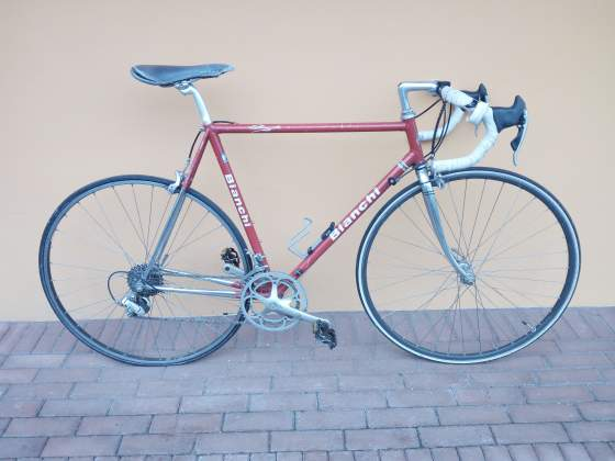 Bici corsa Bianchi campagnolo