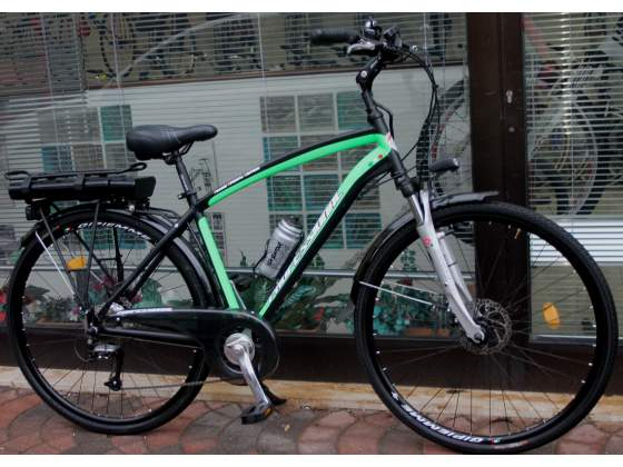 Bici elettrica,motore ansmann e batteria litio