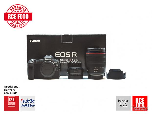 Canon EOS R Canon RF  F4 L IS USM Anello