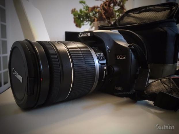 Canon eos 500d + canon efs  stabilizzato
