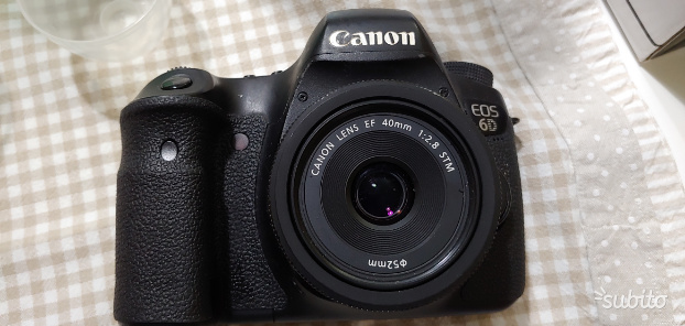 Canon eos 6d ef 40mm f2.8