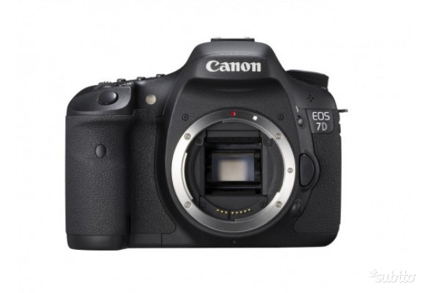 Canon eos 7D body nero reflex 18MP professionale