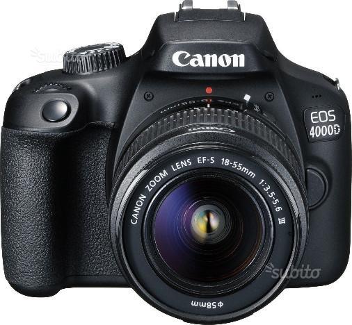 Canon eos d+ dc iii+sd16gb gar.italia pas