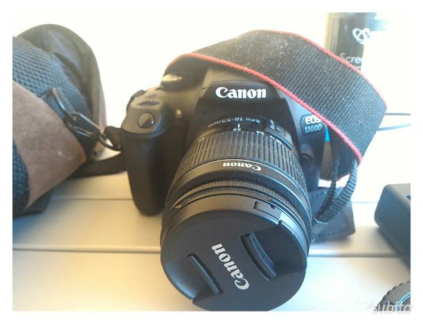 Canon reflex D con Obb. EF S