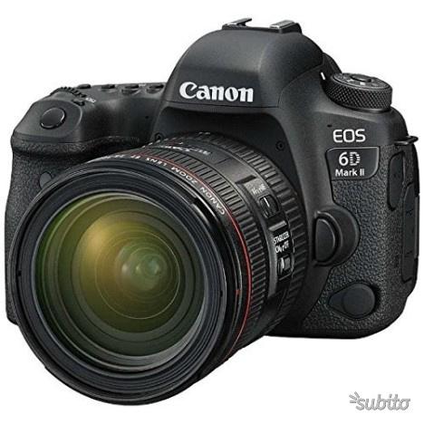 Canon reflex EOS 6D II + mm f/4L IS USM nuovo