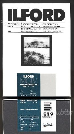 Carta fotografica bianco e nero Ilford 13xf