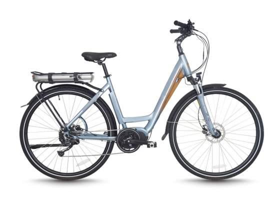 City Bike Elettrica Pedelec pedalata assistita Bafang