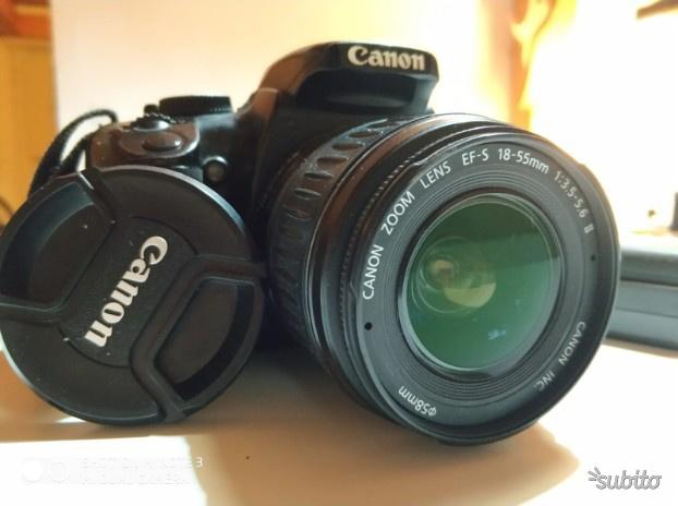 Macchina fotografica Reflex CANON EOS 400D DIGITAL