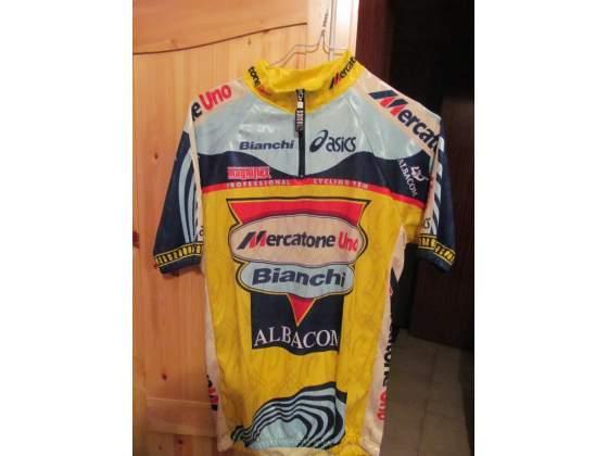 Maglia Originale BIANCHI Campagnolo Team Pantani