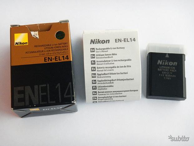 Nikon EN-EL14 Batteria D D D D D77