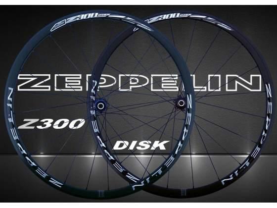 Ruote Bici Corsa Freni a Disco ZEPPELIN Z300 Disk
