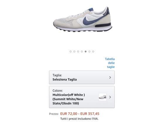 Vendo scarpe Nike nuove mai usate