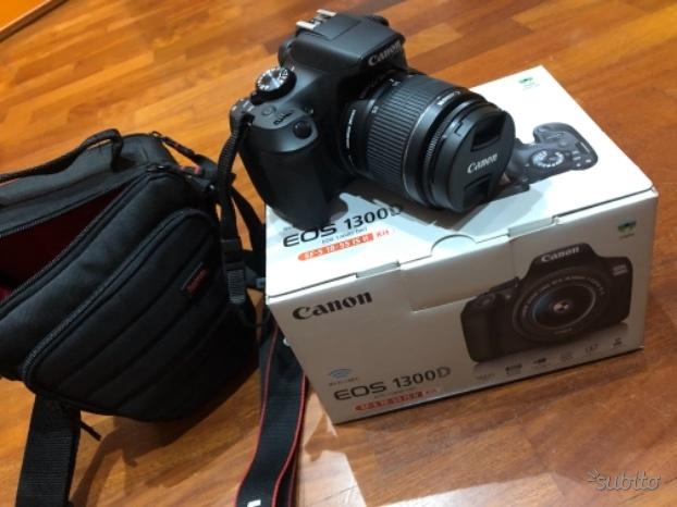 Canon Eos D obiettivo Ef-s  IS II