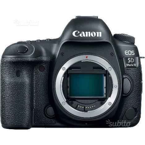 Canon reflex eos 5d mark IV body nuovo