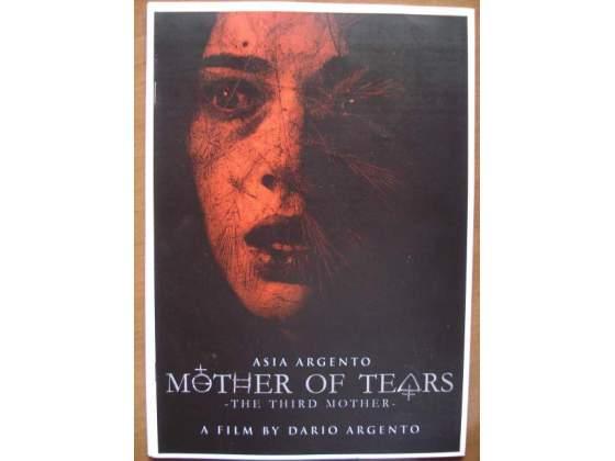 DARIO ARGENTO Pressbook film La terza madre inglese