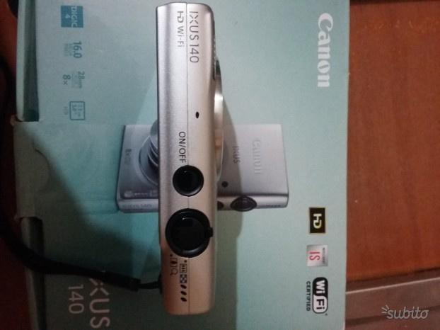 Macchina fotografica Canon ixus 140 HD Wi-Fi