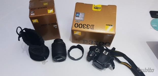 Nikon D Kit Fotocamera Reflex Digitale con Nik