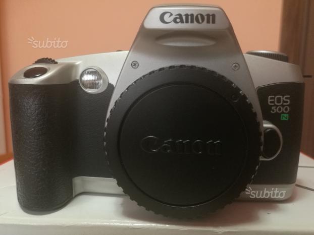 Reflex analogica Canon eos 500n