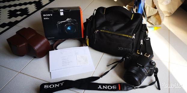 Sony RX10 m3 in garanzia