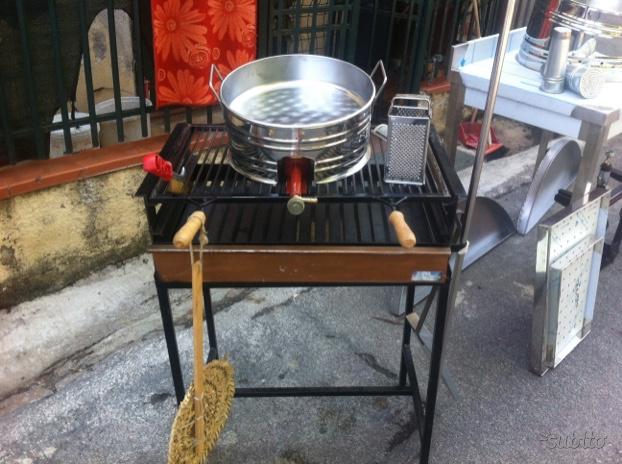 Accessori inox per forno e barbecue