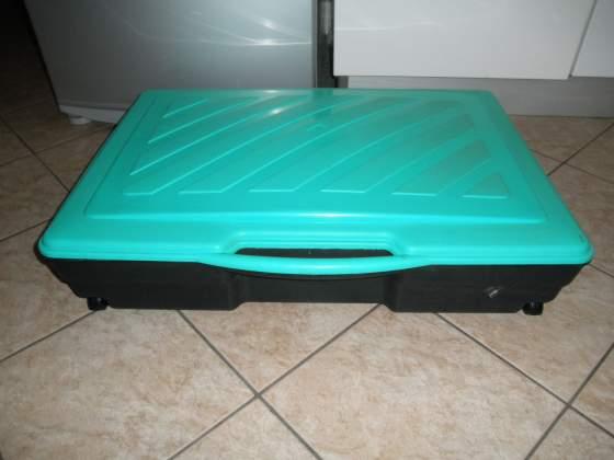 Box contenitore sotto letto per bucato/scarpe 80x58x17