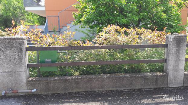 Cancello in alluminio e recinzione in alluminio