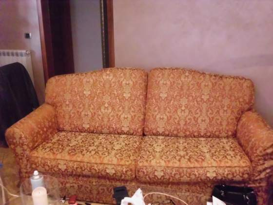 Coppia di divani, 3 e 2 posti