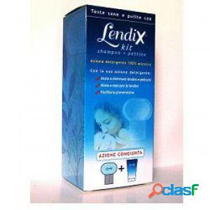 Lendix kit shampoo + pettine per pidocchi