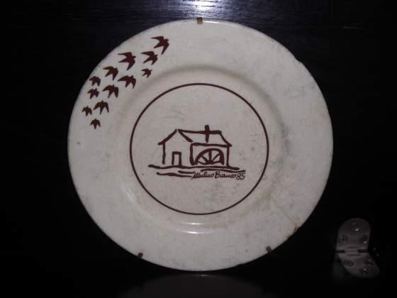 Mulino bianco piatto originale  ceramica buone