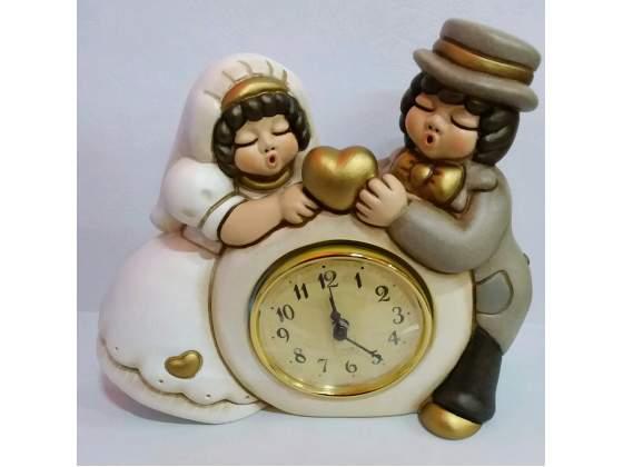 Orologio sposi in ceramica thun nuovo con scatola mai usato