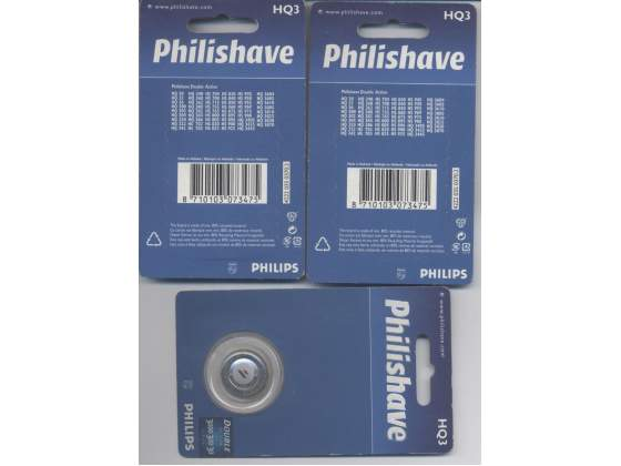 Philips Testine per Philishave HQ 3 double