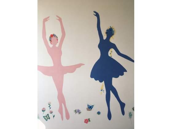 Pitture murali decorative oria posot class - Pitture murali interni ...