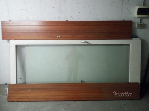 Vendo porta finestra 100 x 240 posot class - Misure porta finestra ...